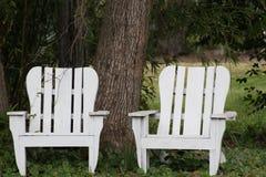 dwa krzesła zdjęcia royalty free
