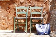 dwa krzesła Obrazy Stock