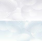 Dwa lekki Abstrakcjonistyczny tło Zdjęcie Royalty Free