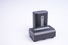 Dwa lit baterii Fotografia Royalty Free