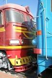Dwa lokomotywy Obrazy Royalty Free