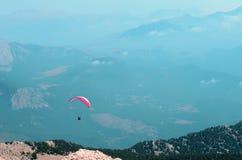 Dwa lotów paragliding Fotografia Royalty Free