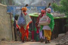Dwa mężczyzna w tradycyjnej Indiańskiej odzieży odludek Obraz Royalty Free