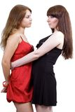 dwa młode kobiety piękna Fotografia Royalty Free