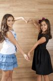 Dwa Młodego przyjaciela Zdjęcia Stock