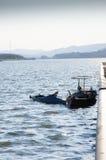 dwa małe łodzie Zdjęcia Stock