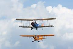 dwa małe samoloty Zdjęcia Royalty Free