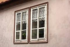 Dwa małego okno Zdjęcia Royalty Free