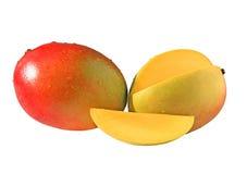 Dwa mango Zdjęcia Stock