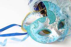 Dwa maski w Wenecja -2 fotografia stock