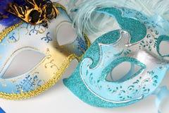 Dwa maski w Wenecja zdjęcie royalty free