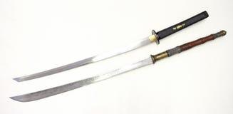 dwa miecze Zdjęcia Stock