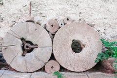 Dwa Millstones Obrazy Stock