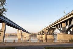 dwa mostki Zdjęcie Stock