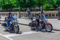 Dwa motocyklu Fotografia Stock