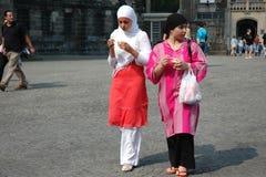 Dwa Muzułmańskiej dziewczyny Obrazy Royalty Free