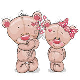 dwa niedźwiedzie ilustracji