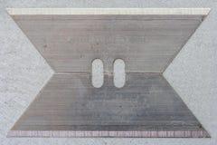 Dwa nożowego ostrza Fotografia Stock