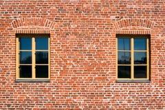 dwa okna zdjęcie stock
