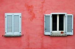 dwa okna obraz stock
