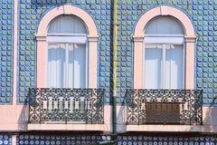 dwa okno Obrazy Stock