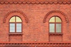 Dwa okno. Zdjęcie Royalty Free