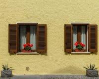 Dwa okno Fotografia Royalty Free