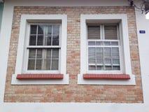 Dwa okno Obraz Royalty Free