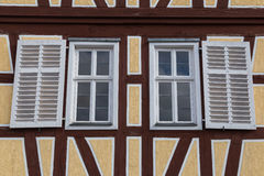 Dwa okno Zdjęcie Stock