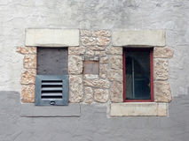 Dwa okno Fotografia Stock