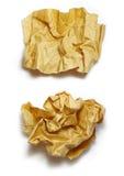 dwa papieru Zdjęcia Royalty Free