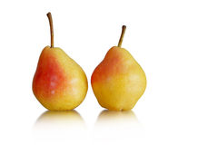 dwa pear Obrazy Royalty Free
