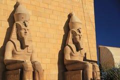 Dwa Pharaoh Fotografia Royalty Free