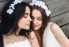 Dwa piękna dziewczyna obraz stock