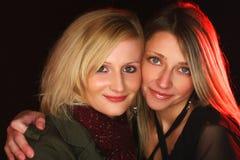 Dwa pięknej dziewczyny Zdjęcia Royalty Free