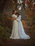 Dwa piękny princess zdjęcia stock