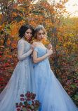 Dwa piękny princess zdjęcia royalty free