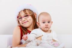 Dwa pięknej siostry wpólnie Zdjęcie Royalty Free