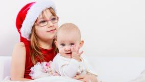 Dwa pięknej siostry wpólnie Obrazy Royalty Free