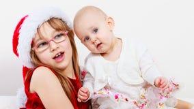 Dwa pięknej siostry wpólnie Zdjęcia Royalty Free