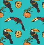 Dwa pieprzojad i persimmon ilustracja wektor
