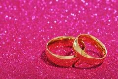 Dwa pierścionku Fotografia Stock
