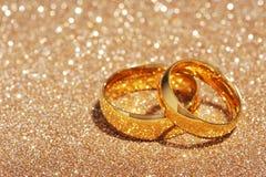 Dwa pierścionku Fotografia Royalty Free