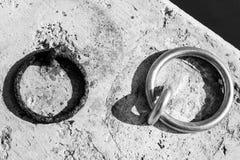 Dwa pierścionku Zdjęcie Royalty Free
