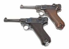 dwa pistolety Zdjęcie Royalty Free