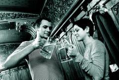 dwa piwa miotacze Zdjęcie Stock