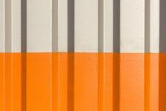 Dwa połówki siwieją i pomarańcze postać panwiowa tekstura Zdjęcie Royalty Free