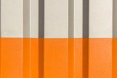 Dwa połówki siwieją i pomarańcze postać panwiowa tekstura Obraz Stock