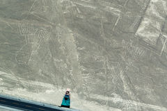 Dwa postaci Nazca Obrazy Royalty Free