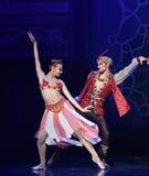 """dwa przyzwala - baletniczy """"One Tysiąc i Jeden Nights† Obrazy Royalty Free"""